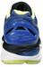 asics Gel-Nimbus 18 Shoe Women Blue Purple/Silver/Sunny Lime